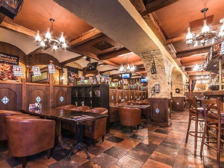 Акция дня: -50% на все меню и напитки в ресторане и баре «Бирхен» в Куркино