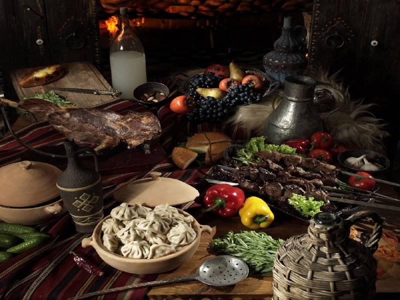 Акция дня: -50% на всё меню и напитки в традиционном грузинском ресторане «Трактир Тбилиси»