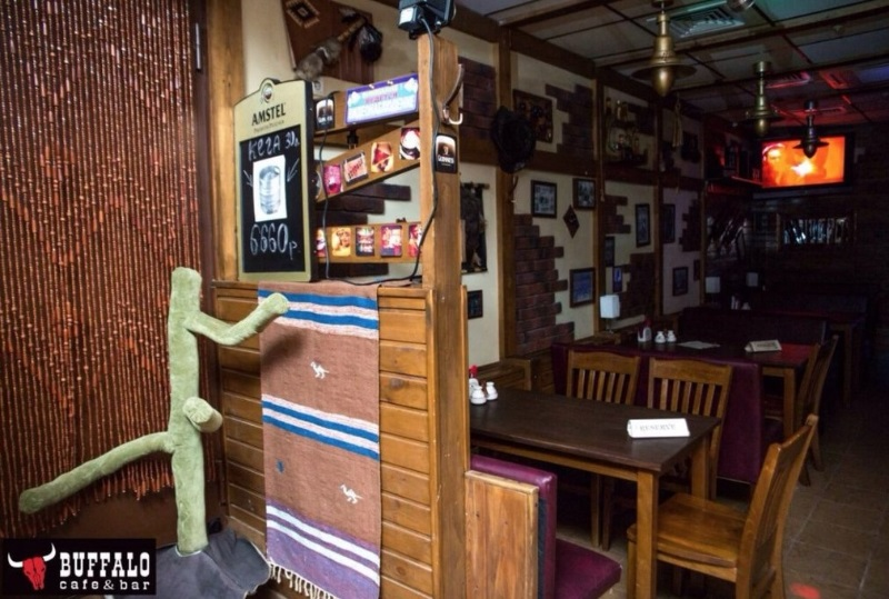"""Акция дня: -30% на проведение банкета со """"своими"""" напитками в баре «Buffalo»"""