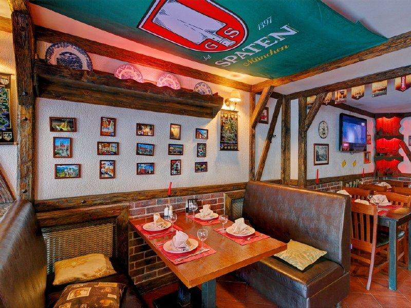 Акция дня: -50% на все меню и напитки в ресторане «Бергштайн» на Спортивной